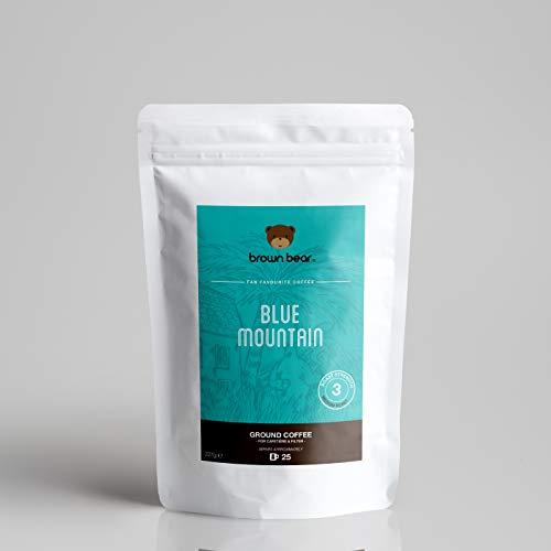 Caffè macinato Blue Mountain di Brown Bear a tostatura media da 227 g