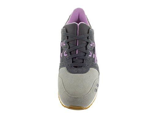 Asics Gel-Lyte III Synthétique Baskets Dark Grey-Sheer Lilac