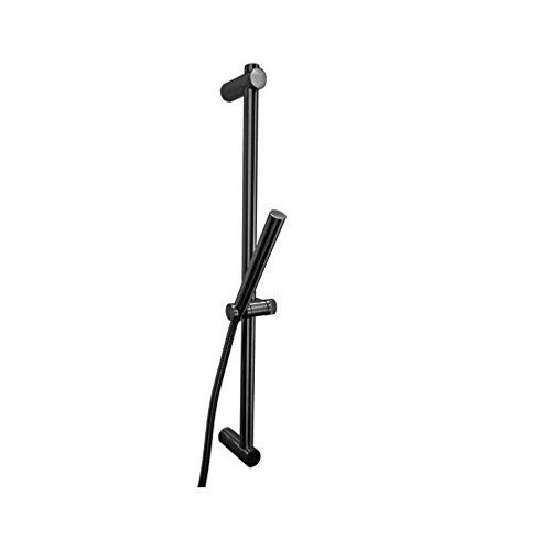 Design Duschstangenset / Duschstange / Brausestange / Duschschlauch 150 cm / Handbrause / Edelstahl / Höhenverstellbar