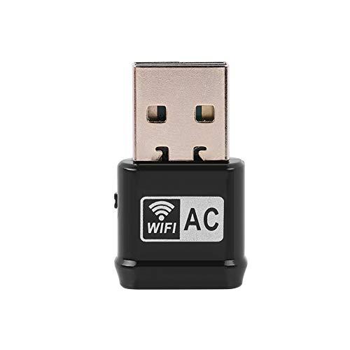 ASHATA WLAN Stick Mini WLAN USB Adapter, USB WiFi Adapter 2,4G 150 Mbps/5G 433 Mbps Dual Band,High-Speed Mini USB WLAN Adapter Wireless USB Adapter Nano für Windows XP / XP64/Vista /7/8/10/ MAC usw. Nano 5g Usb