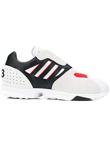 new product 1e897 d206e adidas Y-3 Yohji Yamamoto Herren G54063 Weiss Polyester Sneakers