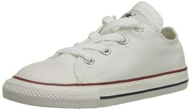 Converse Chuck Taylor All Star Core Ox 015810-21-3, Unisex - Kinder Sneaker, Weiß (Blanc Optical), EU 20