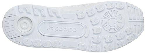 adidas Zx Flux Adv, Scarpe da Corsa Unisex – Adulto Bianco (Ftwr White/Ftwr White/Ftwr White)