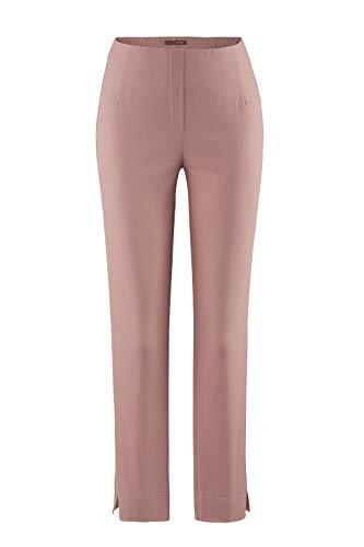 Stehmann-Stretchhose INA 800-mit EXTRA-Fashion Armreif- die Lange Hose-WINTERWARM!! - VIELE Farben - Innen kuschlig angerauht, Hosengröße:42, Farbe:ash Rose