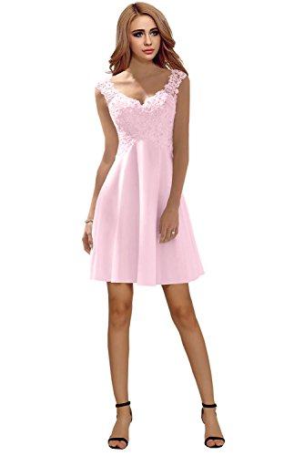 Elegante kleider in rosa