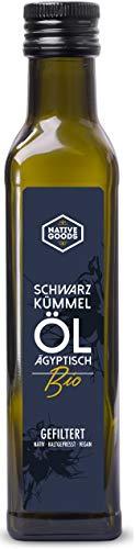 Schwarzkümmelöl BIO   ägyptisch - kaltgepresst - nativ - 100% naturrein   native goods - 250ml