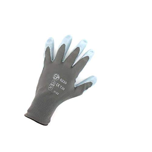 Euro Protection Gants Polyamide Gris Paume Nitrile Taille L/9 EP 6239
