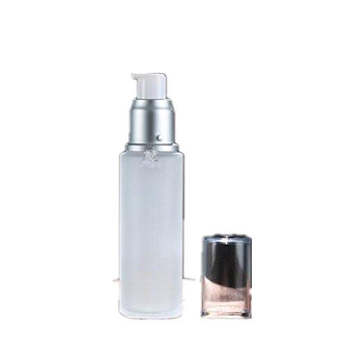 youmei 230ml leer Make Up Kosmetik Drücken Pumpe Head Lotion Creme Milchglas Flasche Behälter Drücken Glas Flasche Reise und Zuhause, 50 ml