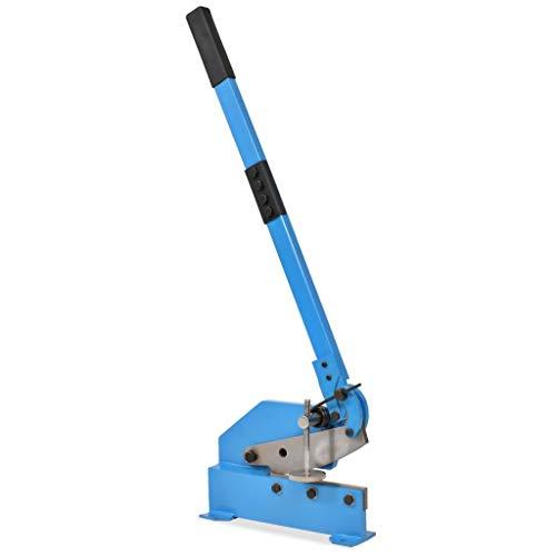 tidyard Handhebelschere 200 mm Hebelschere Schere Messerlänge Automatischer Federrücklauf Blau