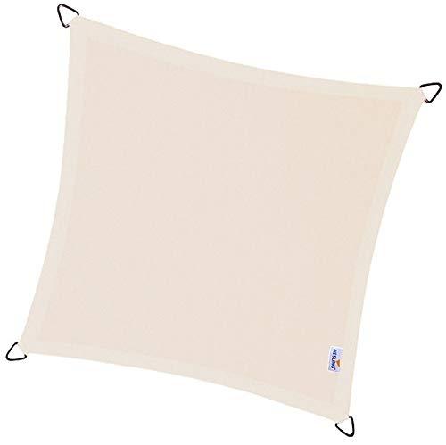 Voile d'ombrage imperméable carrée Dreamsail blanc