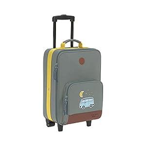 LÄSSIG Kinder Trolley Kindergepäck Reisekoffer mit Packriemen und Rollen ab 3 Jahre/Kids Trolley, Adventure Bus, 46 cm, 18 L