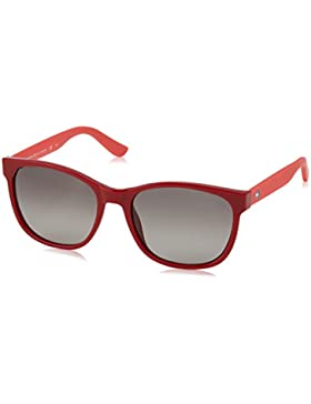 Tommy Hilfiger TH 1416/S HA, Gafas de Sol Unisex, Red Coral, 54