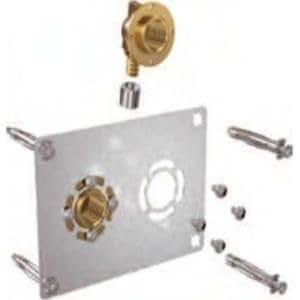 Sortie de cloison double à sertir - Entraxe 50 mm - PER Ø 12 mm - F 1/2 - Robifix - Watts industrie