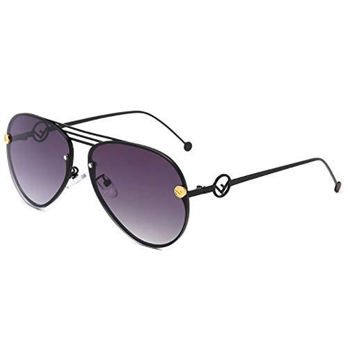 CHKE Klassische Fliegersonnenbrille, Outdoor-Mode Damen Sonnenbrille Big Box Sonnenbrille Herren Klassische Vielseitige Sonnenbrille Unisex Driving Sonnenbrille,Gray