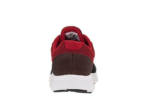 Nike Revolution 3 (4e), Chaussures de Running Entrainement Homme Rojo (Rojo (university red/metallic silver-black))