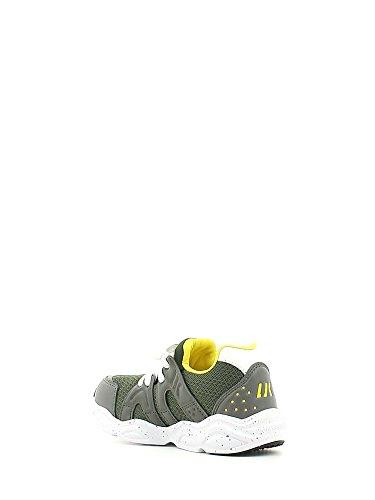 Lumberjack Wrap, Sneaker a Collo Basso Bambino Verde