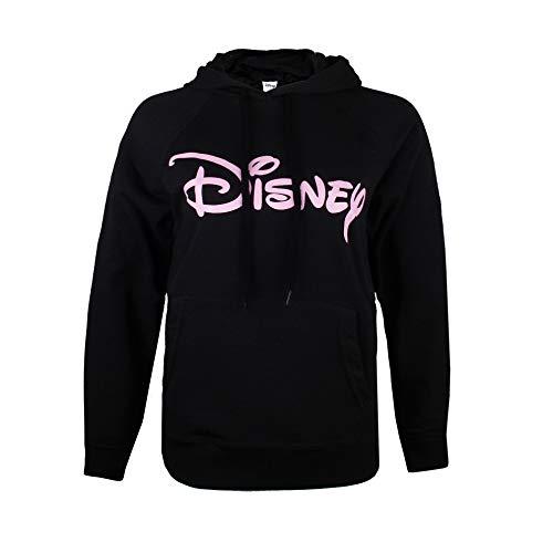 Disney Damen Logo Kapuzenpullover, Schwarz (Black Blk), 40 (Herstellergröße: ()