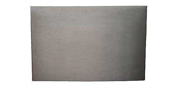 70x50 cm LES ATELIERS DIXNEUF 010.751 Unie Plaque de fonte pour foyer ouvert Noir