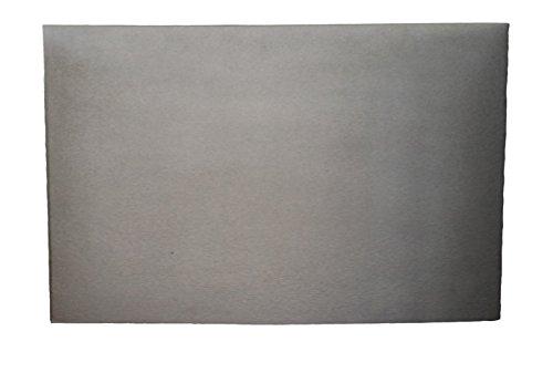 Lunaway Placa de chimenea en hierro fundido lisa | Dimensiones: 40x50 cm Grosor 0,8 cm