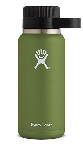 Hydro Flask Unisex 32 oz (1892 ml) Growler Bierflasche aus Edelstahl mit doppelwandiger Vakuumisolierung Olive 32oz (Beer Growler 64)
