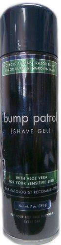 Bump Patrol Shave Gel with Aloe Vera for Sensitive Skin 198g -