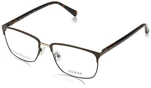 Guess Herren Brille Gu1890 049 54 Brillengestelle, Braun,