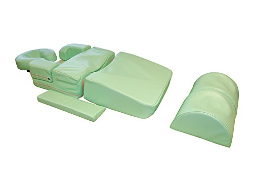 Habys Pregnancy Massage Bolster Set, Light Green