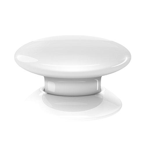 31obfk-YWHL [Bon Plan Domotique] Fibaro The Button Télécommande sans fil Blanc