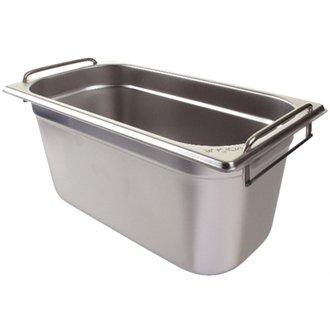 Winware Edelstahl Gastronorm Pan mit Griffen-1/3Größe Gastronorm-pan