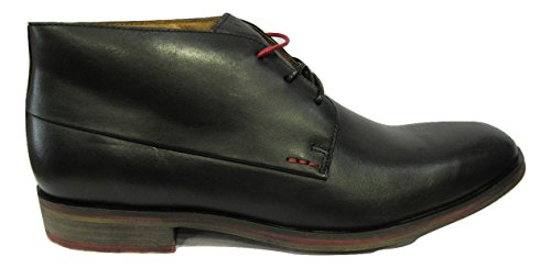 Chaussure ville KICKERS montante cuir noir Noir
