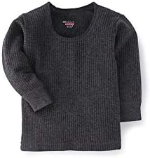 BODYCARE Boys Grey Top Thermal Full Sleeves (Pack of 1)