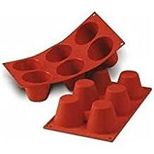 molde de silicona para flanes
