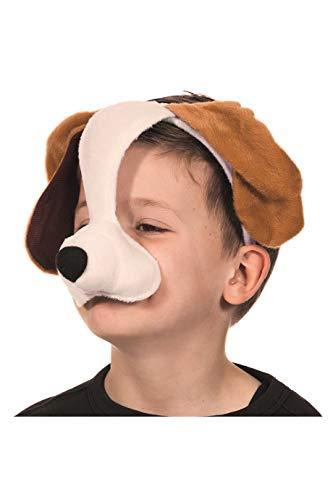 Schäferhund Kostüm - Tiermaske,