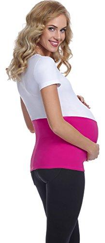 Be Mammy Maternité Ceinture de Ventre Femme GX001 Amaranth