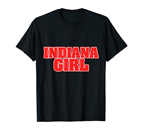 Indiana Girl red  T-Shirt - Indiana-girl