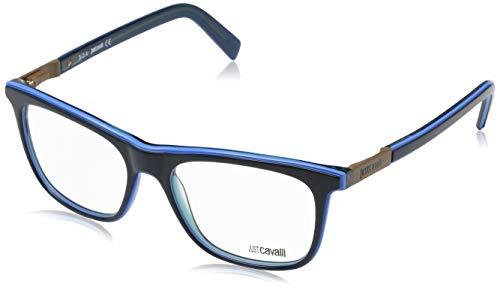 Just Cavalli Unisex-Erwachsene Brille JC0606 092 52 Brillengestelle, Blau,