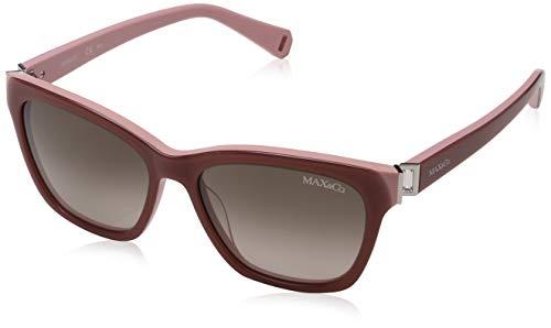 Max Max & Co. Damen CO.276/S HA 25E 54 Sonnenbrille, Peach Pink/Brwn Sf,