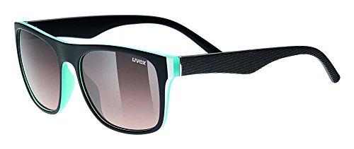Uvex Herren Lgl 26 Sportsonnenbrille, black blue, One size