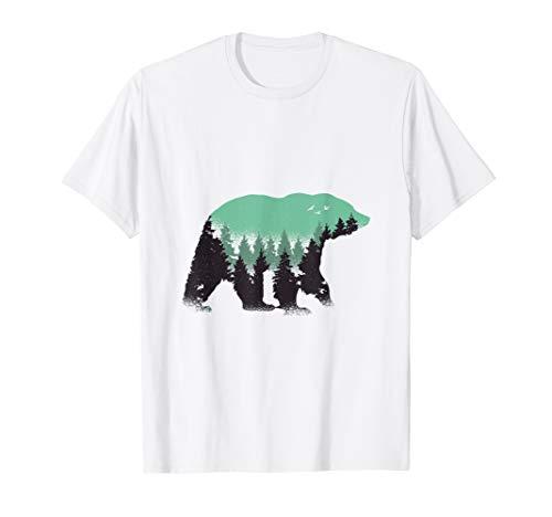 Preserve Bears Vintage National Park Bear Forest Gift T-Shirt