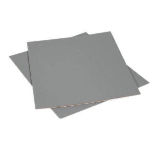 Zwei Graukarten (18%) für den manuellen Weißabgleich und Belichtungsmessung *extragroß* von Ares Foto® 20cm * 25cm GC-1