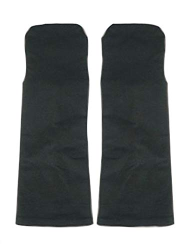 Chong Seng CHIUS Cosplay Costume Accessory Pair Of Black Gauntlets For Uchiha Sasuke (Shippuden Sasuke Uchiha Cosplay Kostüm)