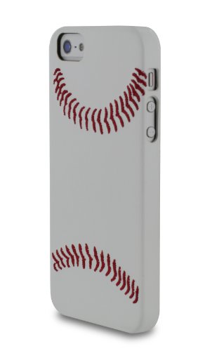 RooCASE sportsFan basket shell coque ultra slim pour apple iPhone 5/5S-updated version snug parfait fit baseball