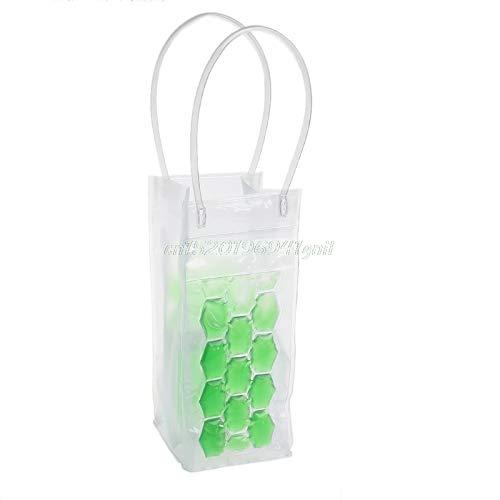 Casavidas PVC Wine Bottle/Ice Bag Rapid Cooler Cool Can Cooling Gel Holder Gift Party#T025