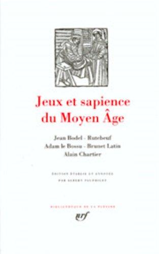 Jeux et sapience du Moyen-Age