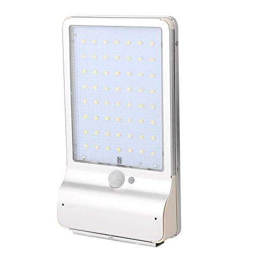 Starnext 56LED Lampe solaire détecteur de mouvement, 6 modes 1000 lm à énergie solaire, étanche, lampe murale avec télécommande extérieure pour jardin, cour, garage, allée