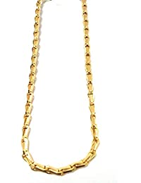 e5ce51641b SRI SAI One Gram Gold Plated Daily Wear Thick Chain for Women & Girls  (24inch