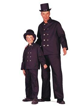 Kinderkostüm Schornsteinfeger, Gr. 152 (Schornsteinfeger Kostüm Für Jungen)