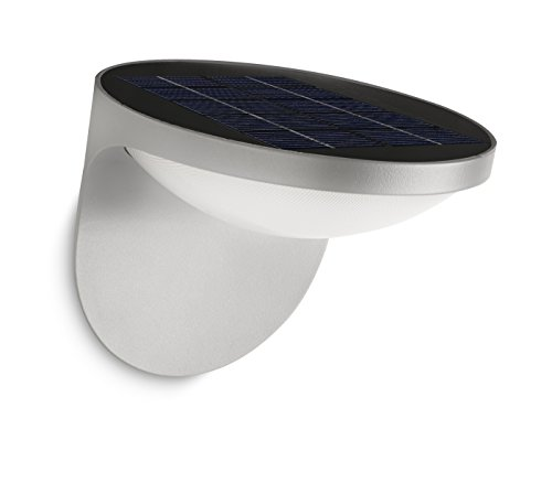 Philips myGarden Solar LED Wandaussenleuchte Dusk, hellgrau, 178078716