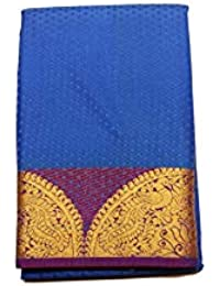 Kanchipuram Vallalar Silks Blue saree
