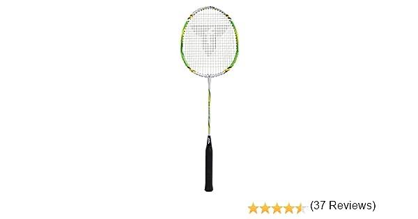 Argent//Vert Talbot Torro Sniper Raquette de Badminton Mixte Adulte